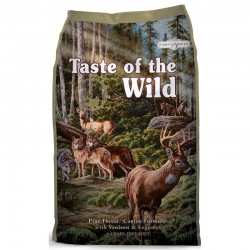 TASTE OF THE WILD Pine Forest Venado - 2 x 12,2 Kg (PACK AHORRO)