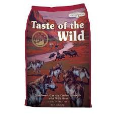 TASTE OF THE WILD Southwest Canyon Perros Buey y Javali - 2 X 13 KG (pack ahorro)
