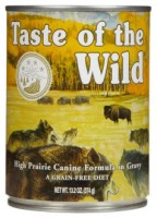 Lata TASTE OF THE WILD High Prairie 374 grs