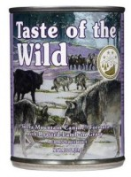 Lata TASTE OF THE WILD Sierra Mountain 374 grs